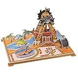 Happy cherry - Puzzle 3D Modelo Rompecabezas Juguetes Juegos Educativos Creativos DIY para niños niñas - Base de pirata