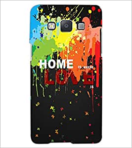 PrintDhaba Quote D-3451 Back Case Cover for SAMSUNG GALAXY A5 (Multi-Coloured)