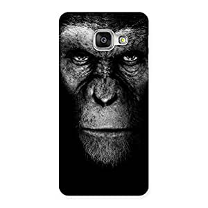 Delighted Chimp King Black Back Case Cover for Galaxy A3 2016