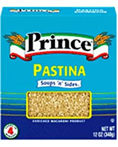 Prince Pasta Pastina 12-Ounce Packages (Pack of 15)