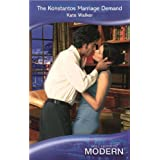 The Konstantos Marriage Demand (Mills & Boon Modern)by Kate Walker