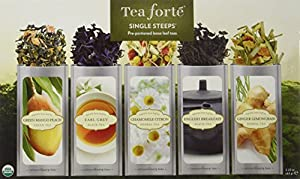 Tea Forte Single Steeps Loose Tea Sampler 2.22 oz(63g)