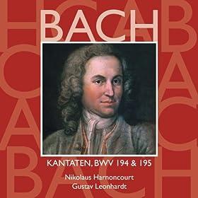 """Cantata No.194 H�chsterw�nschtes Freudenfest BWV194 : XI Recitative - """"Wohlan demnach, du heilige Gemeine"""" [Bass]"""