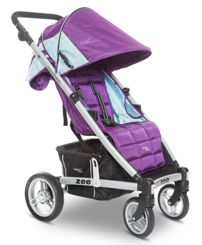 Valco Baby 2013 Zee Single Stroller, Wisteria, 0 Plus Months - 1