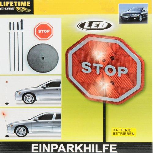 LED Einparkhilfe, blinkende LEDs signalisieren - wenn Ihr Auto die Parkstange berührt.
