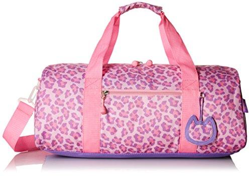 bixbee-sassy-spots-leopard-duffle-bag-pink-large