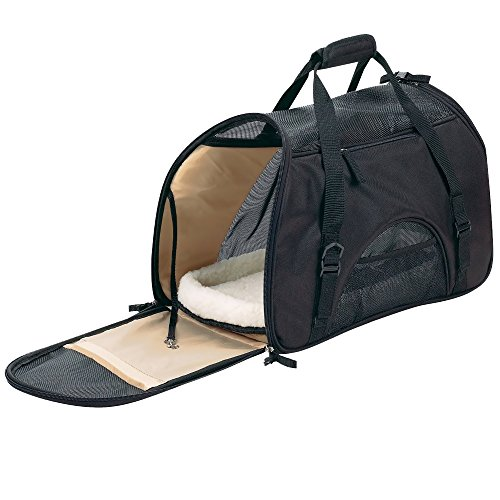 Pet Carrier for Small Dogs and Cats with a Soft Travel Bed Inside the Bag, Can Be Used As a Purse, Airline Approved, Safety on Car, Made with High Quality Materials for Your Puppy, Beautiful Design with the Best Lifetime Guarantee