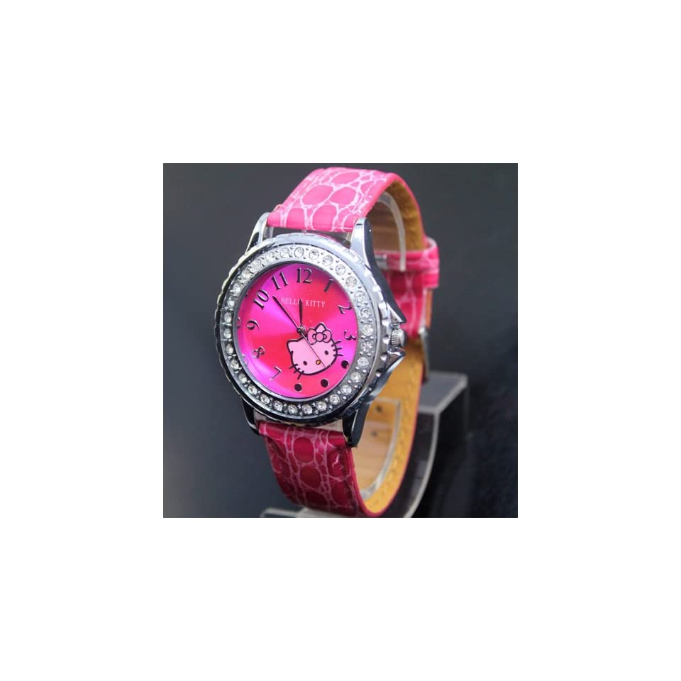 Hello Kitty Pink Quartz Wrist Watch