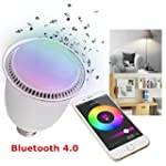 ieGeek� HAOZO puce Bluetooth LED ampo...
