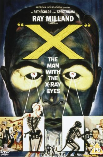 X: The Man with X-Ray Eyes DVD Region 2 [1963]