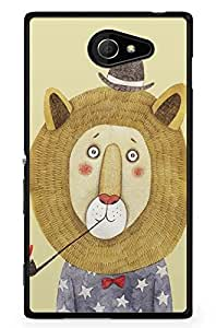 GeekCases Alone Tiger Back Case for Sony_Xperia Xperia M2