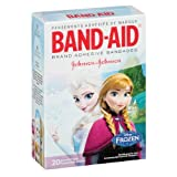 Band-Aid Adhesive Bandages, Disneys Frozen,  Assorted Sizes, 20 Count