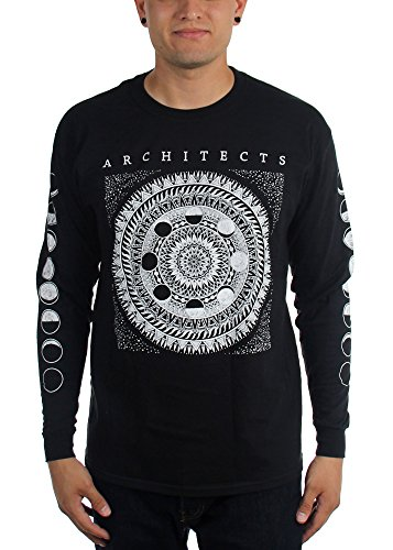 Architects-Arco Moon-Maglietta a maniche lunghe da uomo nero Medium