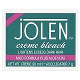Jolen Creme Bleach Mild Formula Plus Aloe Vera 30ml & Accelerator 7g
