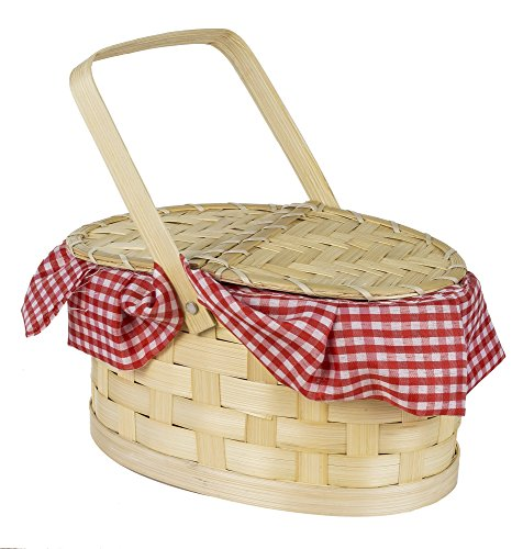 Gingham Basket (Little Red Riding Hood Basket compare prices)