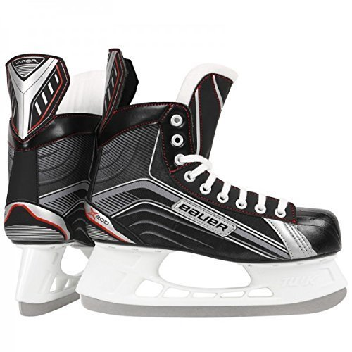 Bauer-Vapor-X200-Patins-de-hockey-sur-glace-Noir-Noir