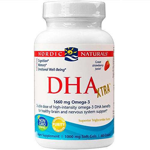 Nordic Naturals - DHA Xtra, Healthy Brain and Nervous System Support, 60 Soft Gels (Nordic Naturals Extra Dha compare prices)