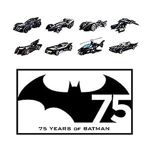 Hot Wheels Batman: Random set of 4 Diecast Cars