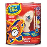 Balitono Works of Ahhh... Butterfly Clock Wood Painting Kit at Sears.com