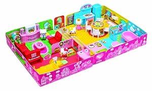 Hello Kitty's House w/dolls (kitty's family: 4pcs)