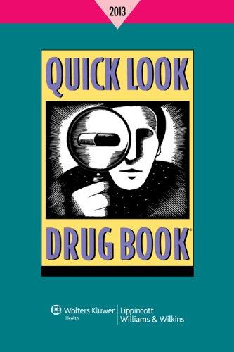 Quick Look Drug Book 2013