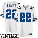 Men's Dallas Cowboy's Nike Emmitt Smith Legend (Big and Tall) Jersey (White) (XXXX-Large)