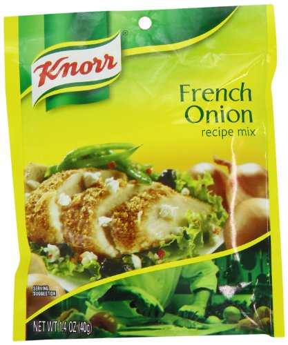 Knorr French Onion Recipe Mix, 1.4-Ounce Packages (Pack Of 12)