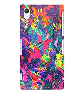 EPICCASE dragon painting Mobile Back Case Cover For Sony Xperia T2 (Designer Case)
