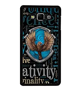 Fuson Premium 2D Back Case Cover Eagle With white Background Degined For Samsung Galaxy A8::Samsung Galaxy A8 A800F