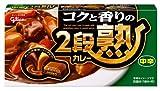 江崎グリコ 2段熟カレー 中辛 144g×5個