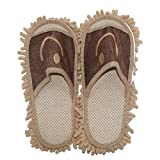 MUREN FLIP FLOP SLIPPER WITH MOP(BROWN)
