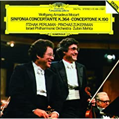 Sinfonia concertante for Violin, Viola and Orchestra in E flat, K.364 - 1. Allegro maestoso