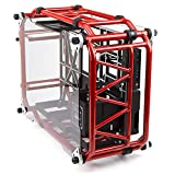In Win Signature Motorcycle Steel Tube ATX Computer Case Cases D-Frame Red Red (Color: Red)