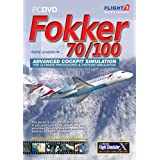 Fokker 70/100 Add-On for FS 2004 / FSX (PC CD)by Flight 1
