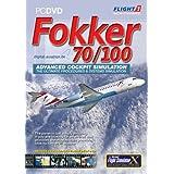 Fokker 70/100 Add-On for FS 2004 / FSX (PC CD)by Flight 1