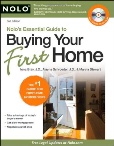 By Ilona Bray J.D., Marcia Stewart, Alayna Schroeder J.D.: Nolo's Essential Guide to Buying Your First Home Third (3rd) Edition