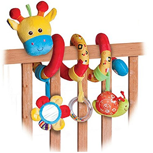 Wonder-Toys-Wrap-Around-Crib-Rail-Toy-Giraffee-81403b