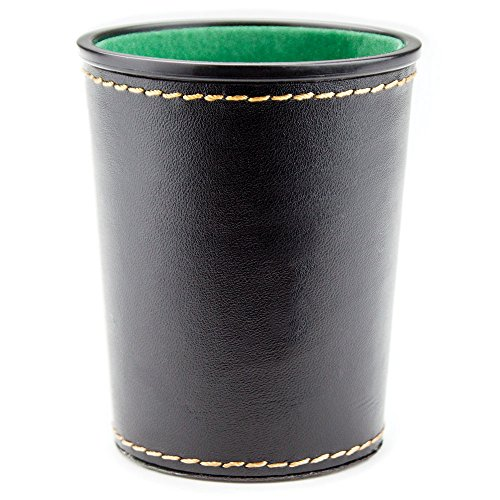 Why Should You Buy Felt-Lined Synthetic Leather Dice Cup by Brybelly