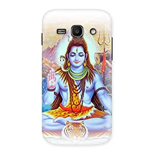 Shiv Blessings Back Case Cover for Galaxy Ace 3