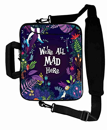 "Popular Customized Fashion Alice in Wonderland movie Laptop Bag For Men (10 Inch) For 9.7""iPad Air 2-iPad 1 2 3 4 5-Samsung Galaxy Tab 3 S T700-Note 10.1-Tab PRO-Google Nexus 10 - CB-10-258"