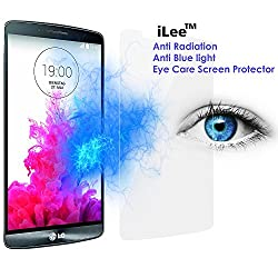 iLee Anti-Radiation Eye Care Premium Tempered Glass Screen Protector (LG G3)
