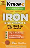 Vitron-c High Potency Iron Supplement Tabs 60 Ct (2 Pack)