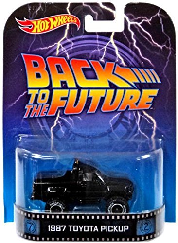 """1987 Toyota Pickup """"Back To The Future"""" Hot Wheels 2014 Retro Series Die Cast Vehicle"""