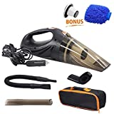 GPISEN Car Vacuum Cleaner DC 12-Volt 106W Wet&Dry Handheld Auto Vacuum Cleaner