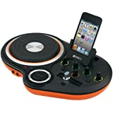 Jensen JENJDJ500 DJ Scratch Mixer - Orange