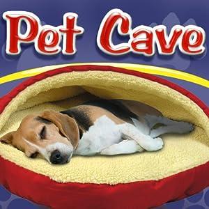 Pet parade pet cave dog bed pet supplies for Amazon com pillow pets