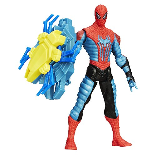 Spider-Man Marvel Amazing Spider-Man 2 Spider Strike Web Shield Spider-Man Figure, 3.75""