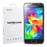 Ganvol Panzerglas Samsung Galaxy S5 Mini Panzerfolie Blickschutzfolie Hartglas Folie Schutzglas [Ultra HD Klar] [Kratzfeste] [Widersteht Flecken und Fingerabdrücke] [Keine Luftblase] [Härtegrad 8-9H] [Schutz das Display vor starken Stoßen] [0.33mm]
