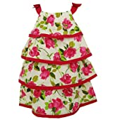 Donita Print Tiered Dress