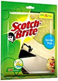 Scotch-Brite Sponge Wipe (Large, Pink & Yellow, Pack of 3)